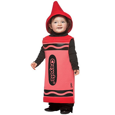 Crayola Crayon Red Baby Costume