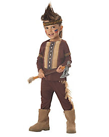 Kids Lil Warrior Native American Toddler Costume