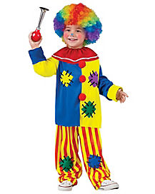 Big Top Clown Toddler Costume