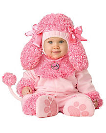 Baby Precious Pink Poodle Costume