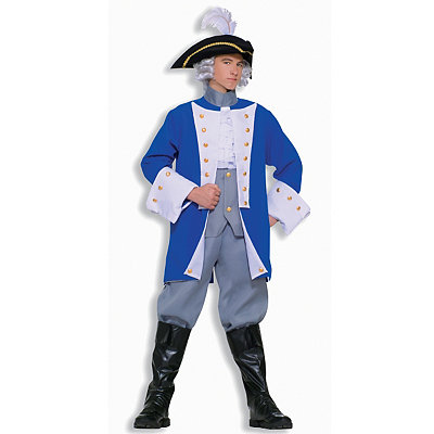 Colonial General Adult Mens Costume