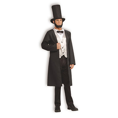 Abe Lincoln Mens Costume