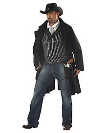 Adult Gunfighter Plus Size Costume