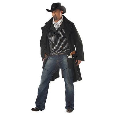 Gunfighter Adult Men Plus Size Costume $59.99 AT vintagedancer.com