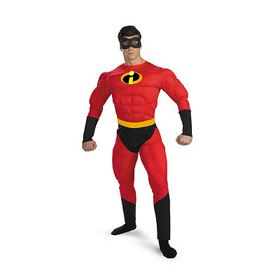 Mr Incredible Deluxe Adult Mens Costume