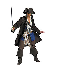 Captain Jack Sparrow Theatrical Adult Mens Costume