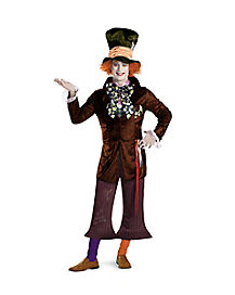 Adult Mad Hatter Costume Deluxe - Alice in Wonderland