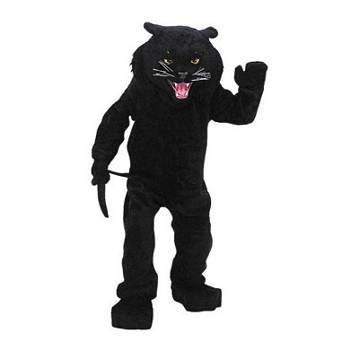 Black Panther Mascot Adult Costume