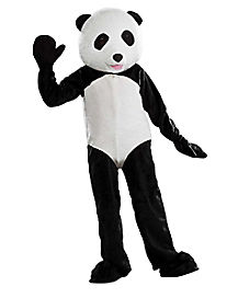 Adult Panda Bear Mascot Costume