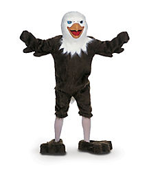 Adult Eagle Mascot Costume