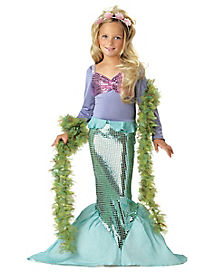 Kids Lil' Mermaid Costume