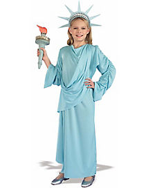 Kids Statue of Liberty Costume