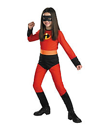 Kids Violet One Piece Costume - The Incredibles