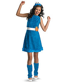Sesame Street Cookie Monster Tween Costume
