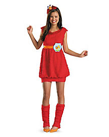 Tween Elmo Dress Costume - Sesame Street