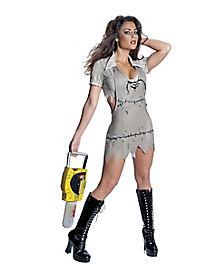 Texas Chainsaw Massacre Miss Leatherface Adult Womens Costume