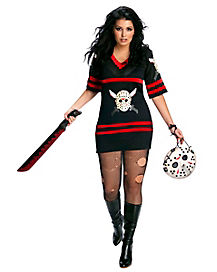 Adult Miss Voorhees Plus Size Costume - Friday the 13th