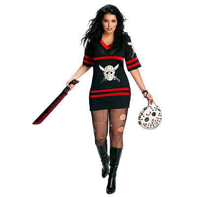 Friday the 13th Miss Voorhees Adult Womens Plus Size Costume
