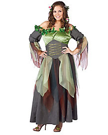 Adult Mother Nature Plus Size Costume