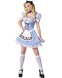Adult Alice in Wonderland Costume