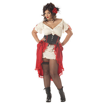Cantina Gal Adult Womens Plus Size Costume