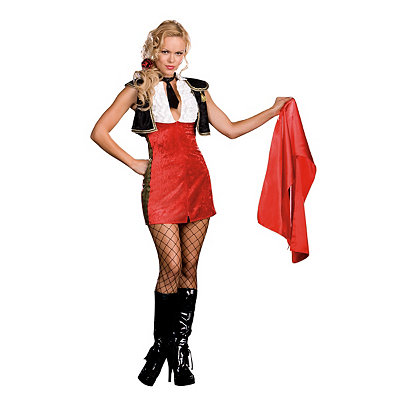 Bullfighter Tori Adore Womens Costume