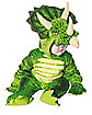 Triceratops Green Infant Costume