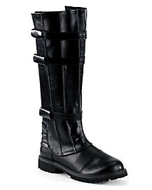 Black Horror Walker Boots