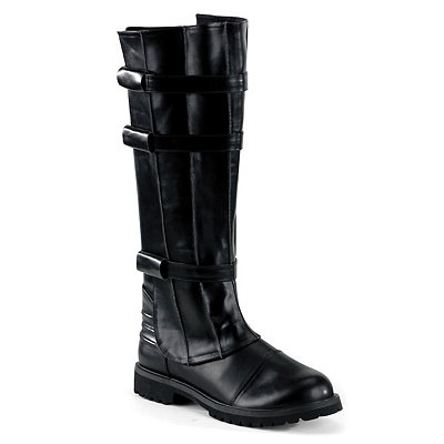 Mens Horror Walker Black Boots