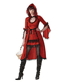 Red Riding Hood Strangelings Adult Womens Costume