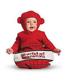 Baby Barrel of Monkeys Costume - Barrel of Monkeys