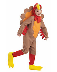 Kids Fleece Turkey Costume