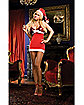 Santa's Big Surprise Womens Costume