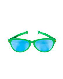 Jumbo Green Clown Sunglasses