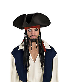 Jack Sparrow Hat Deluxe - Pirates of the Caribbean
