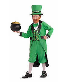 Kids Mr. Leprechaun Costume