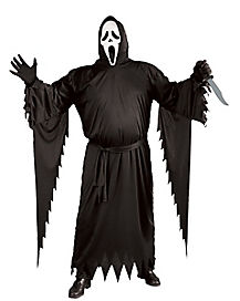 Scream 4 Ghost Face Adult Plus Size Costume