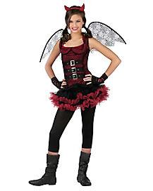 Night Wing Devil Tween Costume