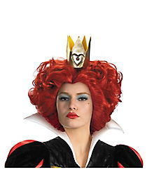 Disney Alice Red Queen Wig