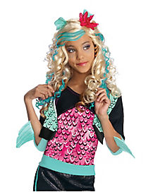 Kids Lagoona Blue Wig Deluxe - Monster High