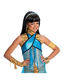 Monster High Cleo De Nile Deluxe Child's Wig
