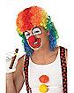 Clown Mullet Wig