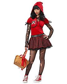 Little Rad Riding Hood Girls Costume