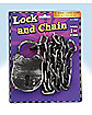 Lock and Chain - Decorations