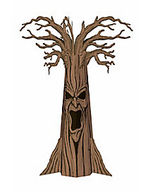 8 ft Corrugated Haunted Tree - Decorations