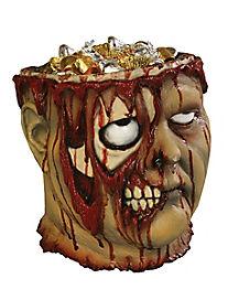 Bleeding Zombie Head Bucket