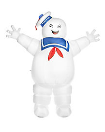 Ghostbusters Stay Puft Marshmallow Man Inflatable Yard Decoration