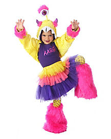 Kids Aarg Monster Costume