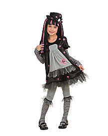 Gothic Dollista Child Costume