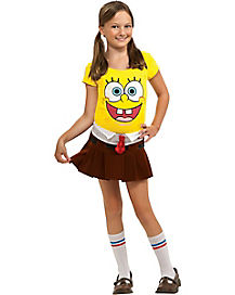 Kids Spongebob Costume - Spongebob Squarepants